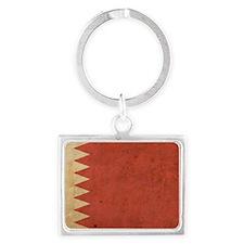 Vintage2Bahrain1 Landscape Keychain
