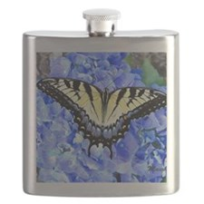 Eastern Yellow Tiger Swallowtail Butterfly Flask