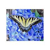 Blue butterfly Blankets