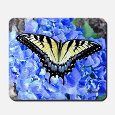 Eastern Yellow Tiger Swallowtail Butterf Mousepad