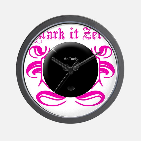 MarkIt_Pink Wall Clock