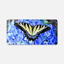 Eastern Tiger Swallowtail B Aluminum License Plate