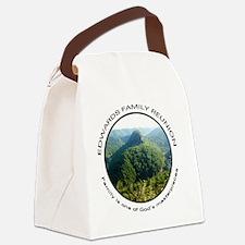 2-Masterpiece Canvas Lunch Bag