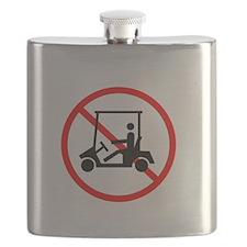 NoGolfCartDark Flask