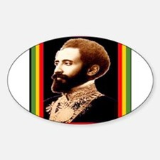 BRING DAT ROOTS RASTA Oval Decal