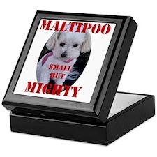 maltipoo_small_but_mighty copy Keepsake Box