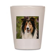 Shetland Sheepdog Shot Glass