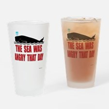 the_sea_was_angry Drinking Glass