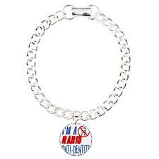 new_anti-dentite Charm Bracelet, One Charm