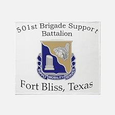 501ST BSB Throw Blanket