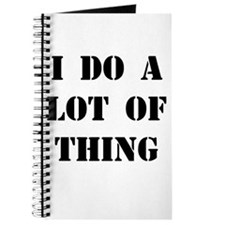 What You Do Journal