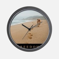 Poster_Freedom2 Wall Clock