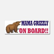 Mama Grizzly 1 Car Magnet 10 x 3