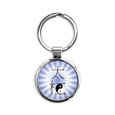 TaiChiL Round Keychain