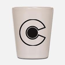 2-colorado C Shot Glass