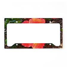 Fibro Acceptance License Plate Holder