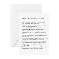 Top Ten for CFS Greeting Cards (Pk of 10)