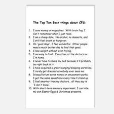 Top Ten for CFS Postcards (Package of 8)