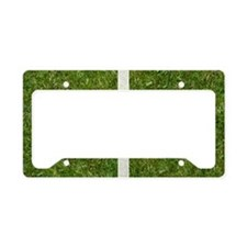 10th bday GCard License Plate Holder