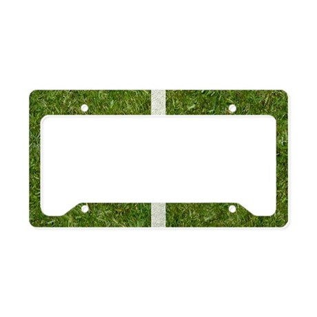 50th bday Pcard License Plate Holder