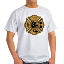 Dive Rescue Black & Gold Ash Grey T-Shirt