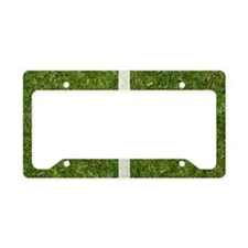 40th bday Pcard License Plate Holder