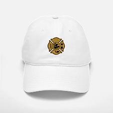 Dive Rescue Black & Gold Baseball Baseball Cap