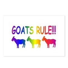 Goats Rule Postcards (Package of 8)