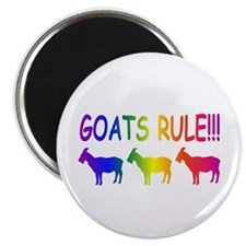 Goats Rule Magnet