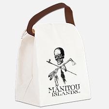 ManitouIslands-JollyPsenka Canvas Lunch Bag