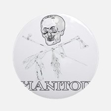 ManitouIslands-JollyPsenka- Round Ornament