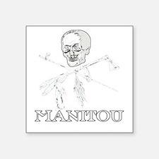 "ManitouIslands-JollyPsenka- Square Sticker 3"" x 3"""