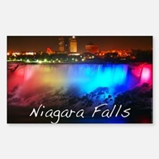 Niagara Falls Sticker (Rectangle)