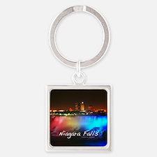 Niagara Falls Square Keychain