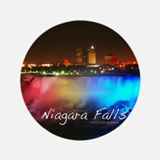 "Niagara Falls 3.5"" Button"