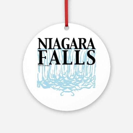 Niagra Falls Round Ornament
