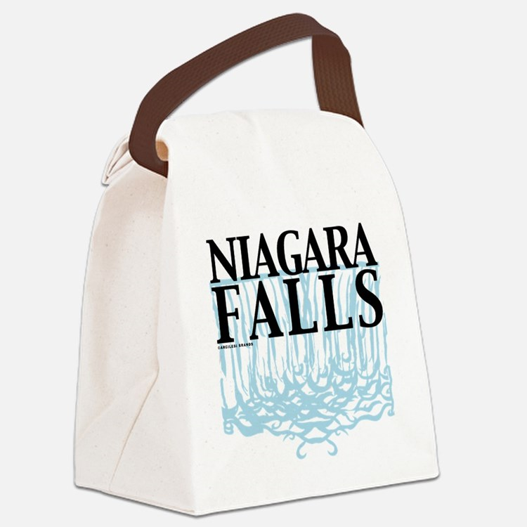 Niagra Falls Canvas Lunch Bag