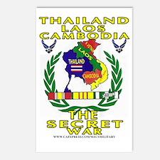 SECRET WAR Postcards (Package of 8)