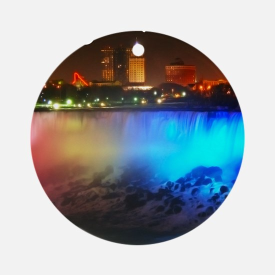 Niagara Falls Round Ornament