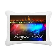 Niagara Falls Rectangular Canvas Pillow