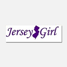 Jersey Girl Car Magnet 10 x 3