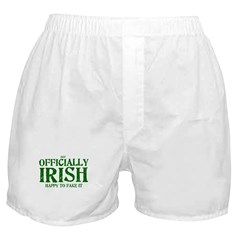 Officially Irish Boxer Shorts