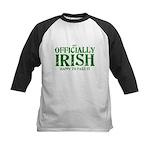 Officially Irish Kids Baseball Jersey