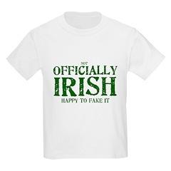 Officially Irish Kids T-Shirt