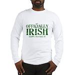 Officially Irish Long Sleeve T-Shirt