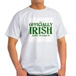 Officially Irish Ash Grey T-Shirt