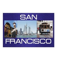sanfrancisco1a Postcards (Package of 8)