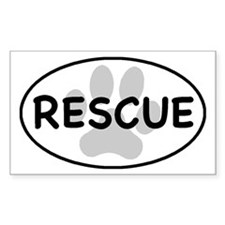 rescue paw-1 Decal