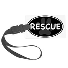 rescue paw-2 Luggage Tag
