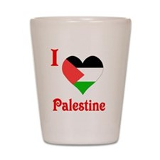 Palestine5 Shot Glass